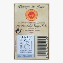 Vinaigre de Xérès José Paez Lobato 50 ans José Paez Lobato