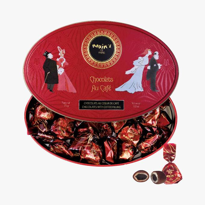Bonbons au coeur de café enrobés de chocolat Maxim's