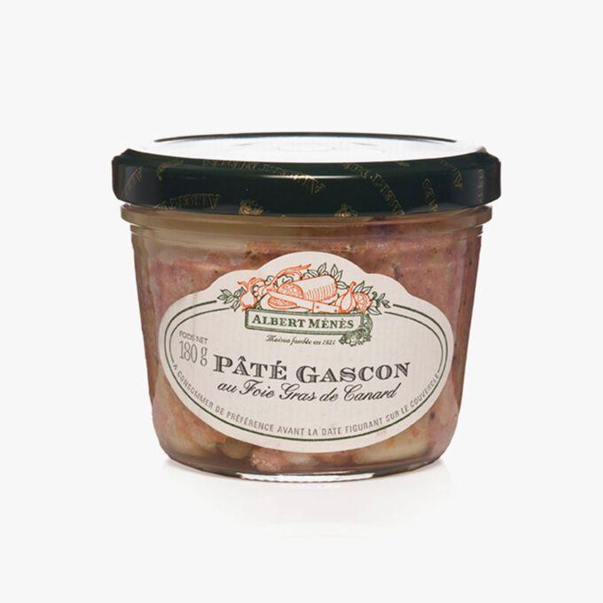 Pâté Gascon au Foie Gras de Canard Albert Ménès
