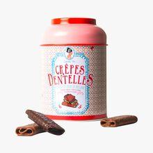 Crêpes dentelles chocolat noir et au lait Sophie M