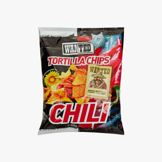 Chili flavour tortilla chips Wanted