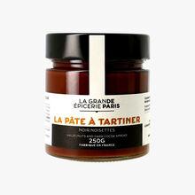 La pâte à tartiner noir noisettes La Grande Épicerie de Paris