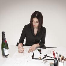 Champagne Moët Impérial – Edition limitée dessinée par Yoon, Directrice Artistique de la marque AMBUSH – Exclusivité Moët & Chandon