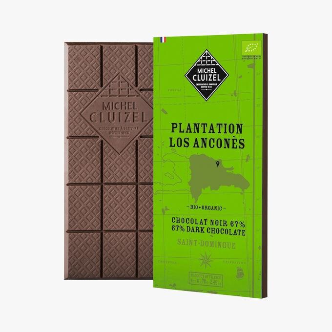 Tablette Plantation Los Ancones bio Michel Cluizel
