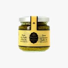 Pesto à la truffe d'été 2 % - Tuber aestivum vitt Maison de la Truffe