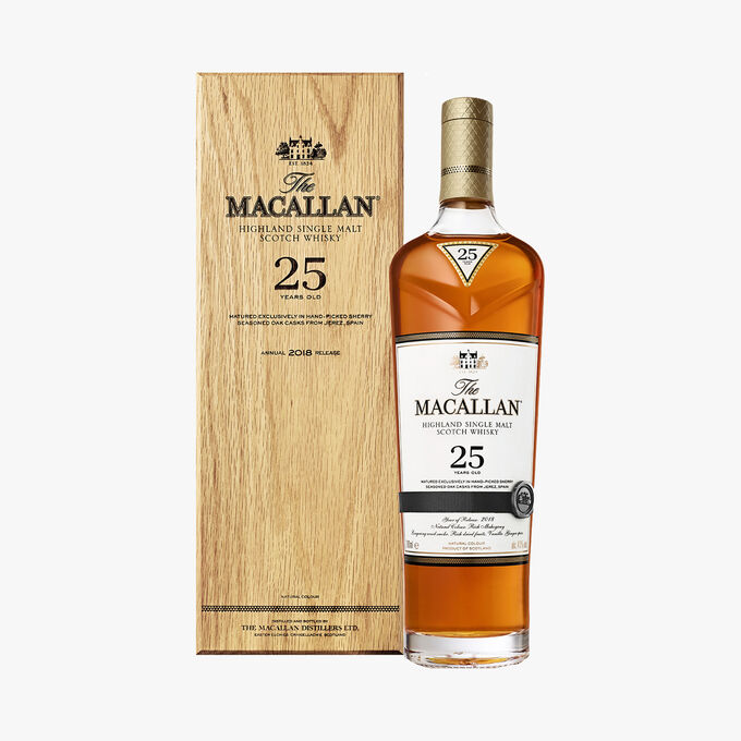 Whisky The Macallan, 25 years, Sherry Cask The Macallan