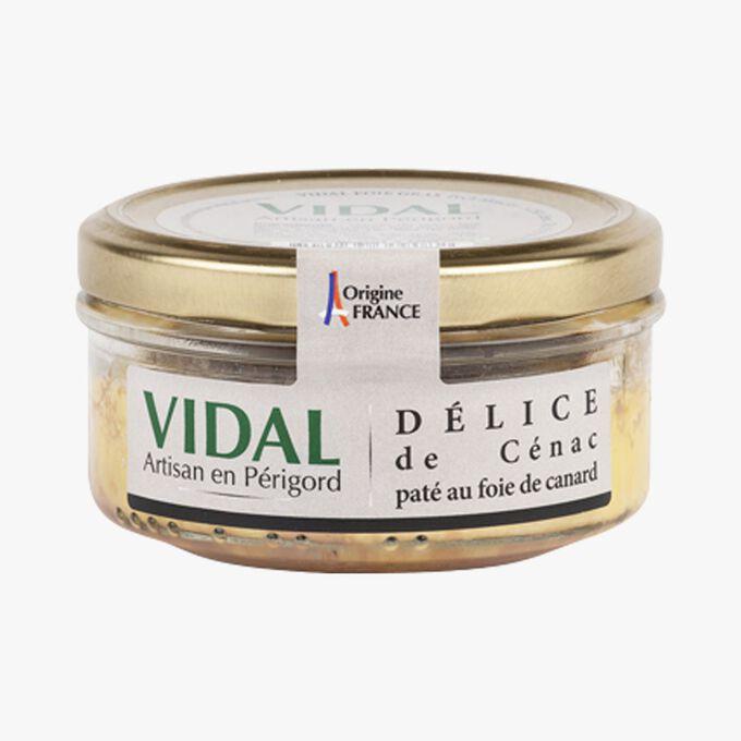 Délice de Cénac pâté au foie de canard Vidal