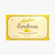Sardines au citron et à l'huile d'olive La Guildive
