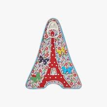 Caramels beurre salé - mini boîte fer « Tour Eiffel » fleurs La Maison d'Armorine