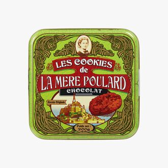 Chocolate cookie gift box La mère Poulard