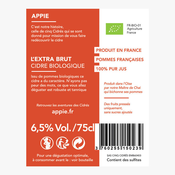 The extra brut Appie