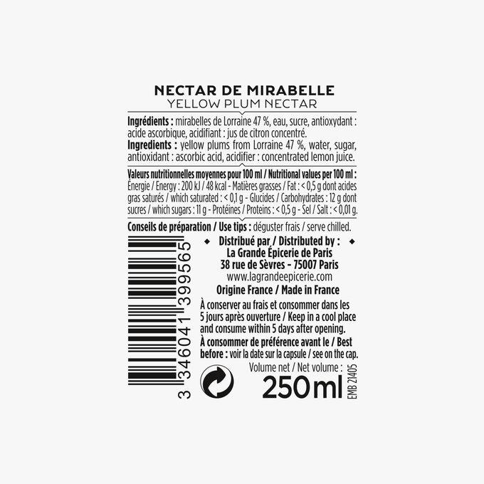 Nectar de Mirabelle La Grande Épicerie de Paris