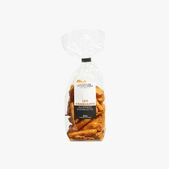 Biscuits craquants au piment d'Espelette La Grande Épicerie de Paris
