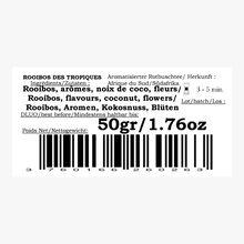 Rooibos des tropiques - Orange, fruits rouges & morceaux de coco Compagnie Coloniale