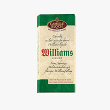 Swiss milk chocolate filled with liquid Williams brandy Camille Bloch