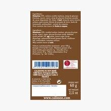 Chocolate and hazelnut calissons Le Roy René