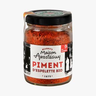 Poudre de piment d'Espelette AOP Bio Maison Arosteguy
