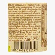 Bolognese sauce La Favorita