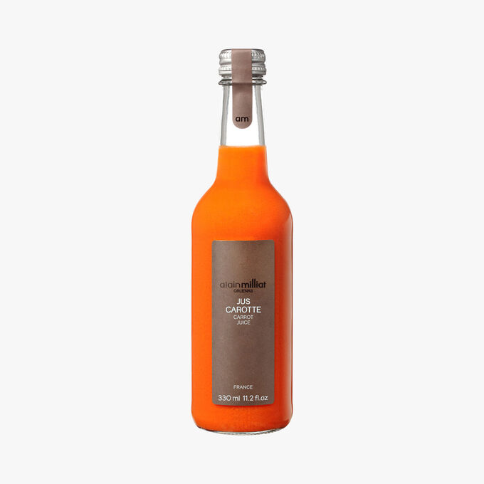 Carrot juice Alain Milliat