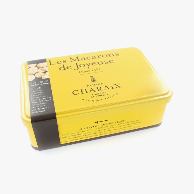 Coffret métal Charaix - Les macarons de Joyeuse Charaix