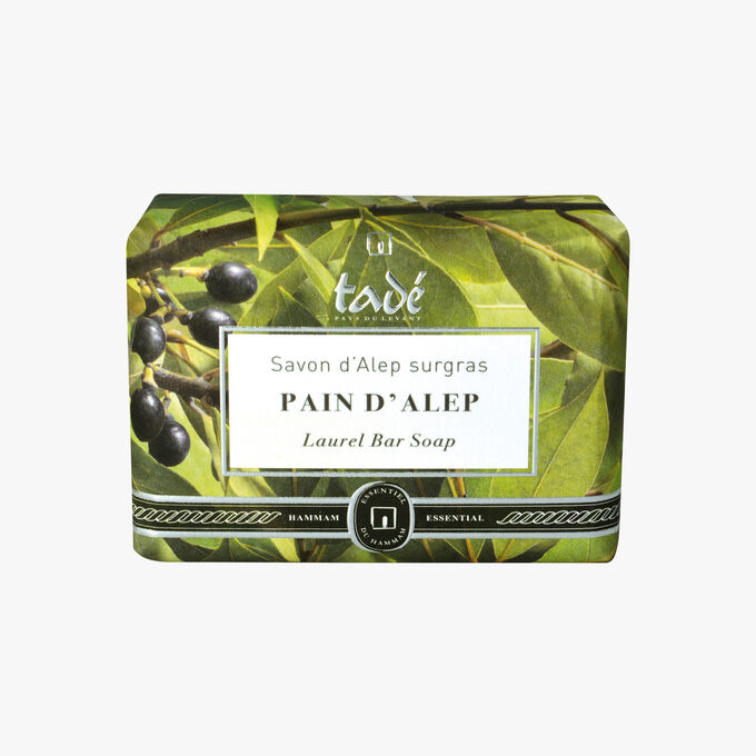 Aleppo soap, emollient soap Tadé Pays du Levant