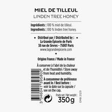 Miel de tilleul La Grande Épicerie de Paris