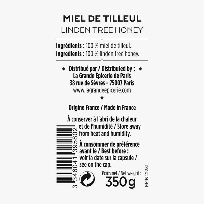 Linden honey La Grande Épicerie de Paris