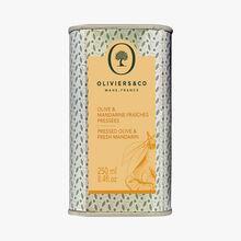 Olive & mandarine fraîches pressées Oliviers & Co