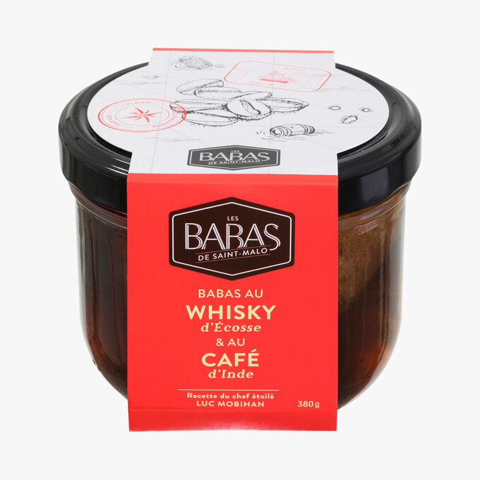 Babas au whisky d'Écosse & au café d'Inde Les Babas de Saint Malo