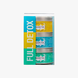 Full Detox, 3-tin assortment Kusmi Tea