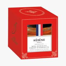 Préparation miel d'acacia et piment d'Espelette Hédène