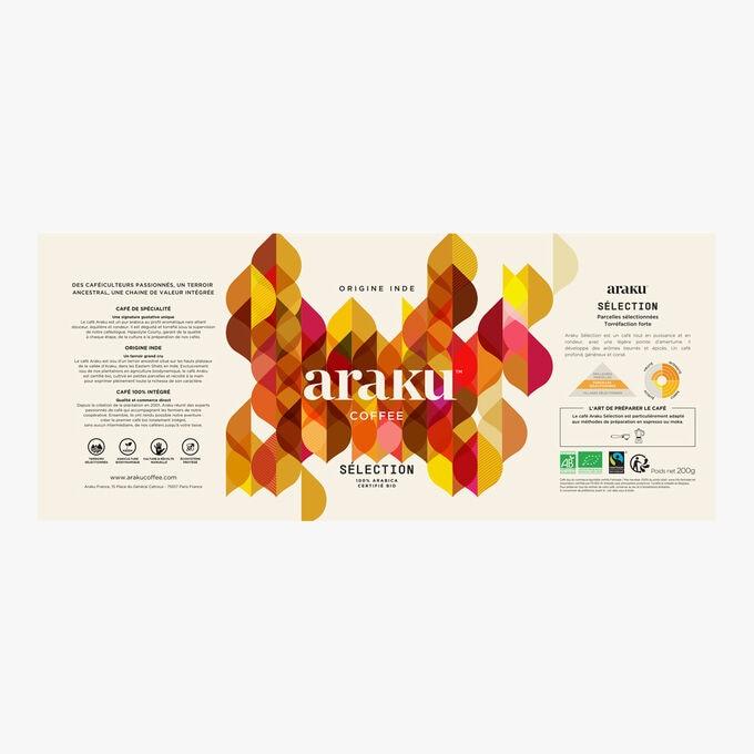 Café moulu Sélection, origine Inde Araku