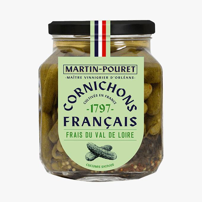 Cornichons français, frais du Val de Loire Martin Pouret