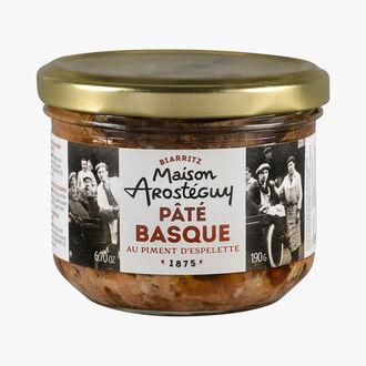 Basque pâté with Espelette chili MAISON AROSTEGUY