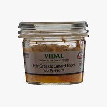 Foie gras de canard entier du Périgord Vidal