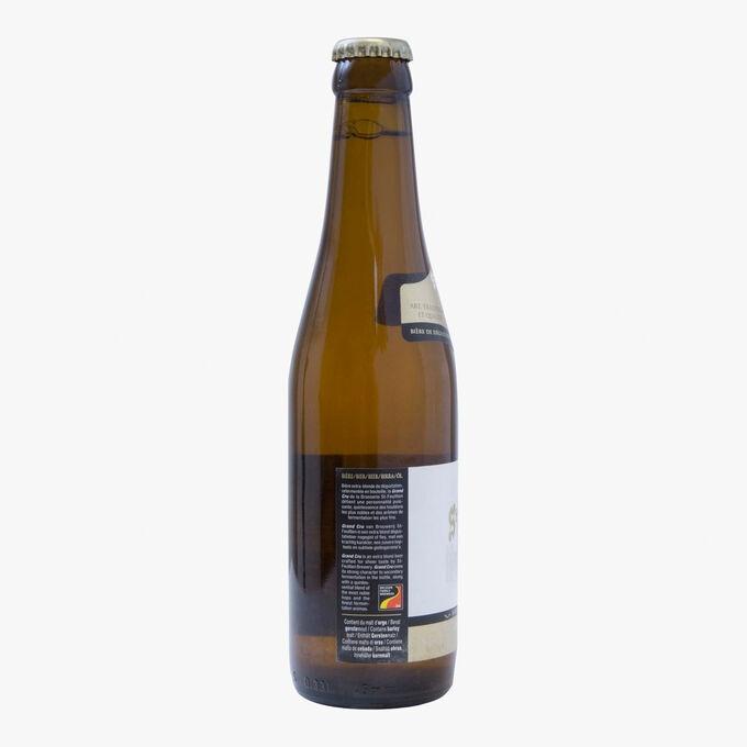Grand Cru extra blond beer Saint-Feuillien