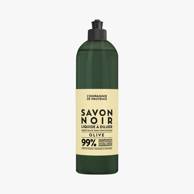 Savon noir liquide à diluer Olive Compagnie de Provence
