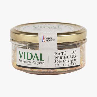 Périgueux truffle pâté, 30% foie gras  Vidal