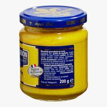 Moutarde aromatisée au curry Reine de Dijon