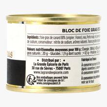 Le bloc de foie gras de canard, boîte 65g La Grande Épicerie de Paris