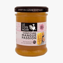 Confiture mangue passion Le Coq Noir