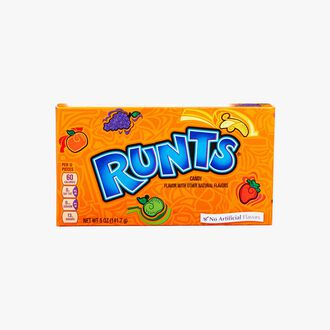 Fruit-flavoured, sugar-coated sweets Wonka