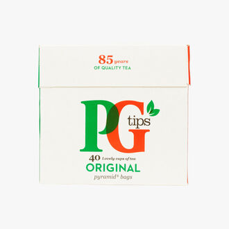 Pyramid tea bags PG