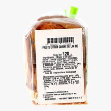Palets bio aux amandes, citron et graines de lin Daniel Mercier