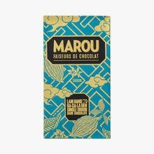 Tablette de chocolat noir du Vietnam, Lam Dong, 74% de cacao Marou
