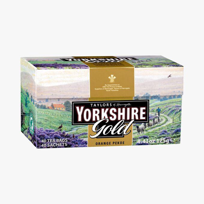 Thé Yorkshire Gold - 40 sachets Taylor's of Harrogate