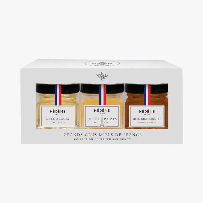 Collection de miels récoltés en France Grands Crus édition Paris Hédène