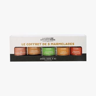 Le coffret de 5 marmelades La Grande Épicerie de Paris