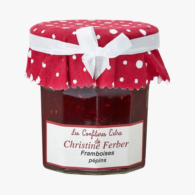 Confiture extra de framboise pépins Christine Ferber