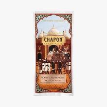 Tablette chocolat lait aux noisettes entières du Piémont Chapon